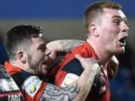 Salford Red Devils 36-8 Widnes Vikings: Scott Taylor scores first try for the hosts as they move to fourth in Super League table
